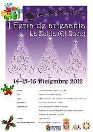 Participación en 1º Exposición de Artesanía de la Zubia