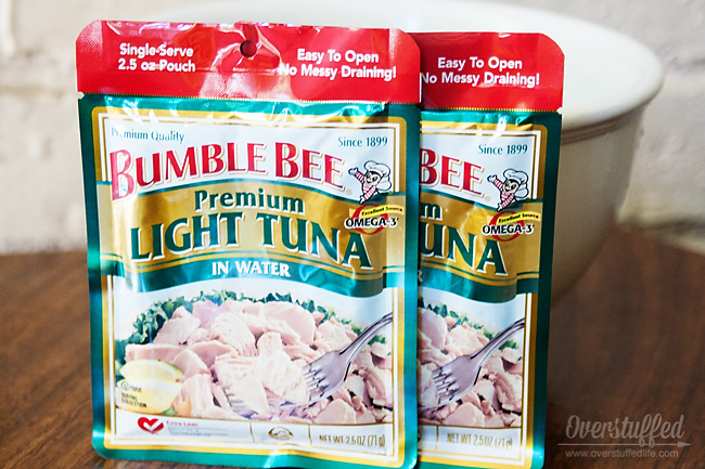 using the tuna pouches is quicker and cleaner