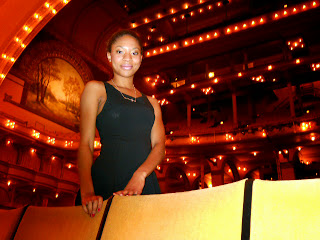 Amber, Auditorium Theatre Marketing Intern