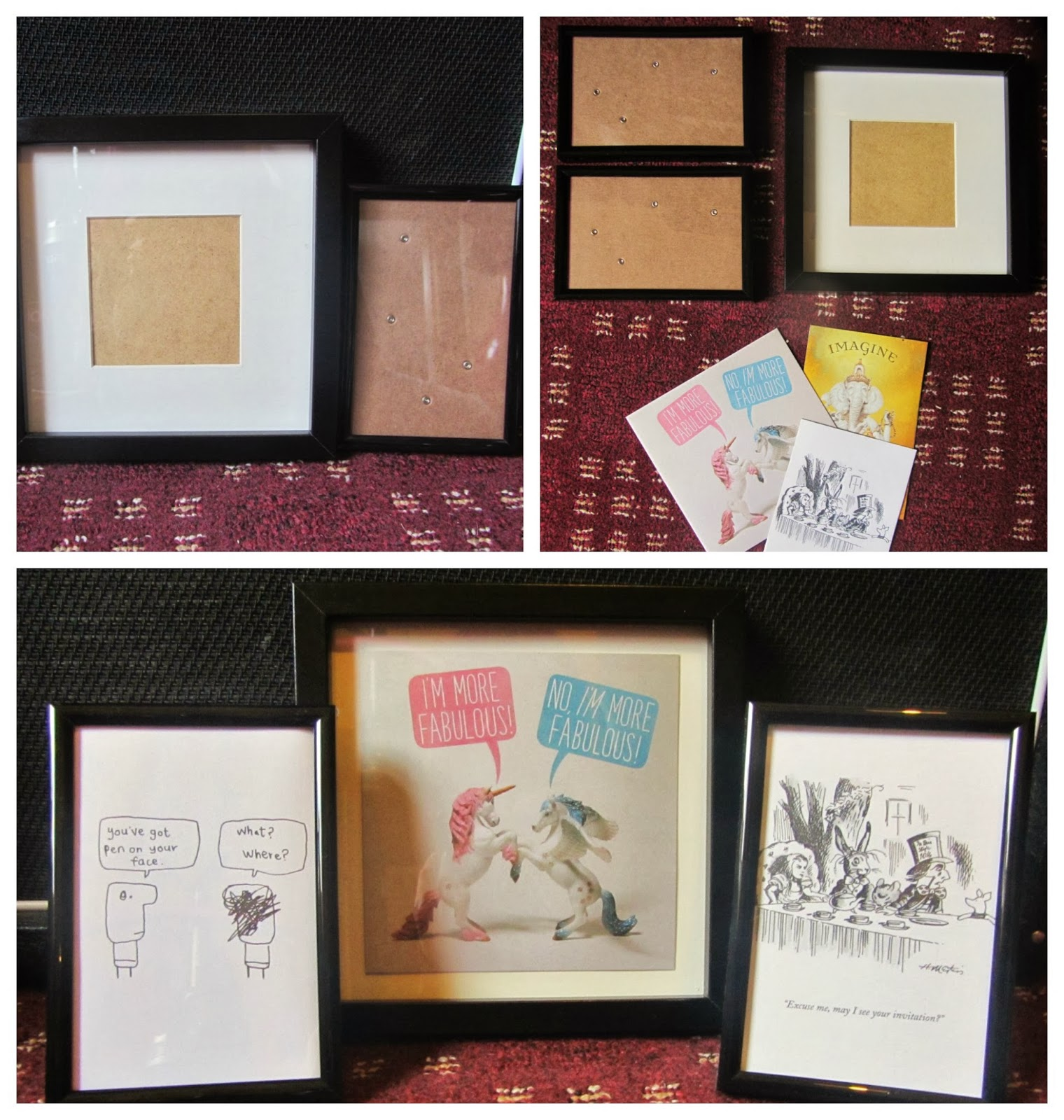 Tesco Picture Frame Gallery - Craft Decoration Ideas
