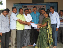 UTF NDCL giving Memorondam to MPDO NDCL