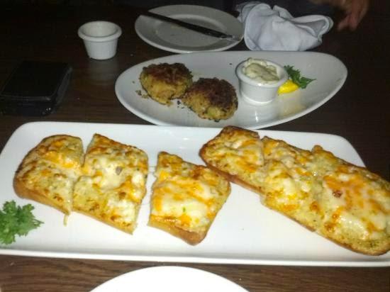 Chesapeake Bay Crab and Cheese Toast