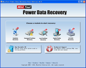 MiniTool Power Data Recovery | data file recovery software