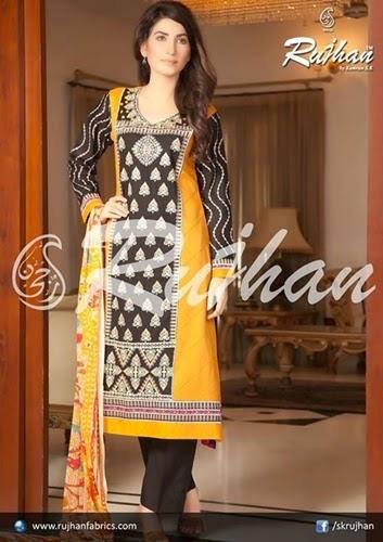 Rujhan Eid Collection 2014