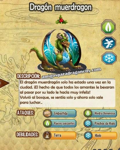 imagen de las caracteristicas del dragon muerdragon