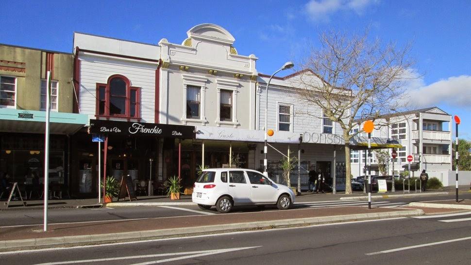 Batiments commerciaux à Ponsonby Auckland