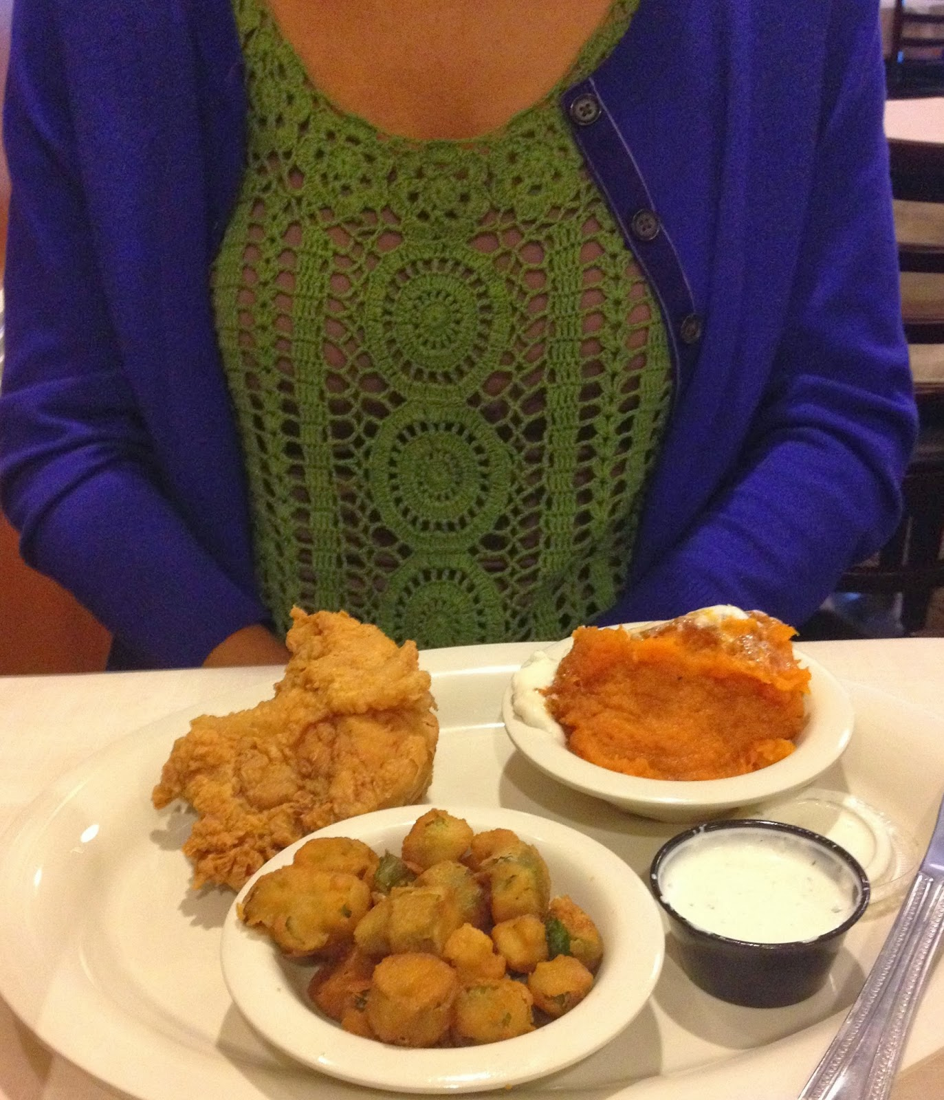 Real College Student of Atlanta: Eating in ATL {Mary Mac\'s}