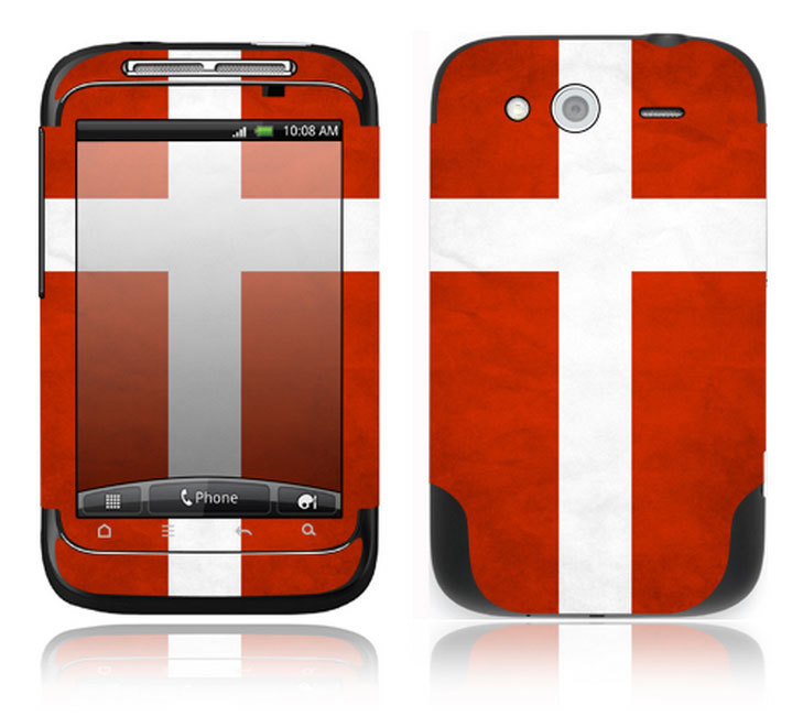 HTC WildFire S decal vinyl sticker skin for cover case ~HWFS-PO19