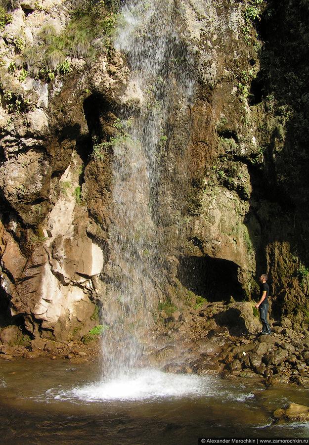 Брызги Медового водопада
