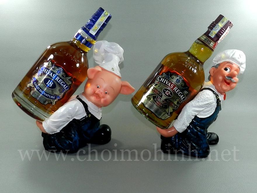 Đế để rượu Đầu bếp heo & Thủy thủ