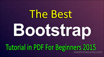 The Best Bootstrap tutorial in PDF For Beginners