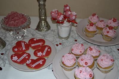 Alla hjärtans dag Cupcakes