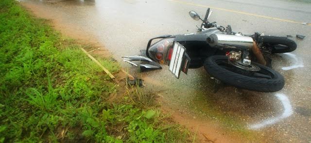Je me souviens encore de son tragique accident de moto, sur une petite route des Alpes