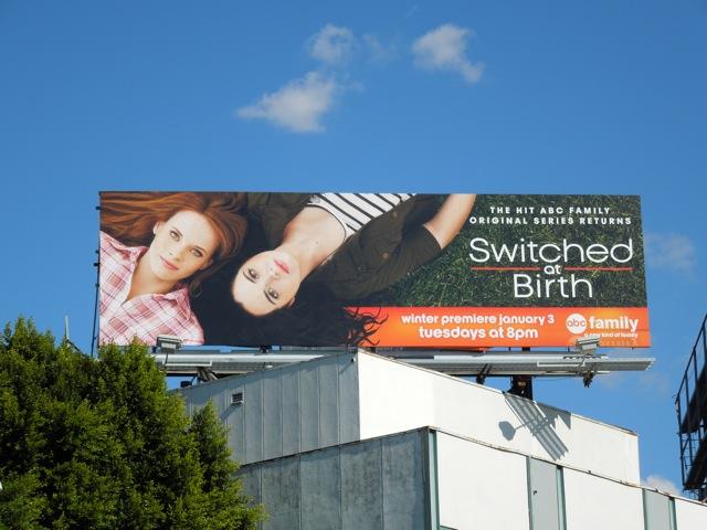Switched at Birth billboard