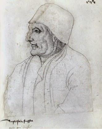 Retrato de Jean Froissart