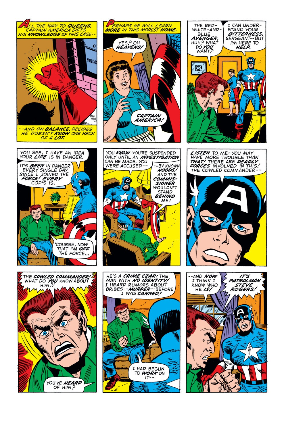 Captain America (1968) Issue #158 #72 - English 6