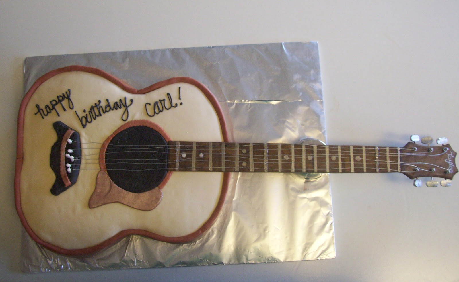 Guitar Cake Images With Name : Spatula City Cakes: Classic Rock
