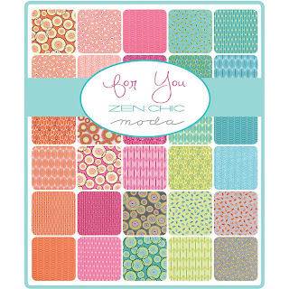 Moda FOR YOU Fabric by Zen Chic for Moda Fabrics