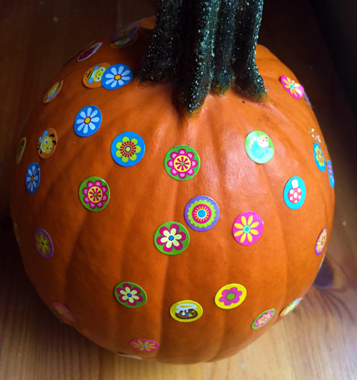you can make pumpkin decorating into a learning activity with this alphabet pumpkin idea from i can teach my child