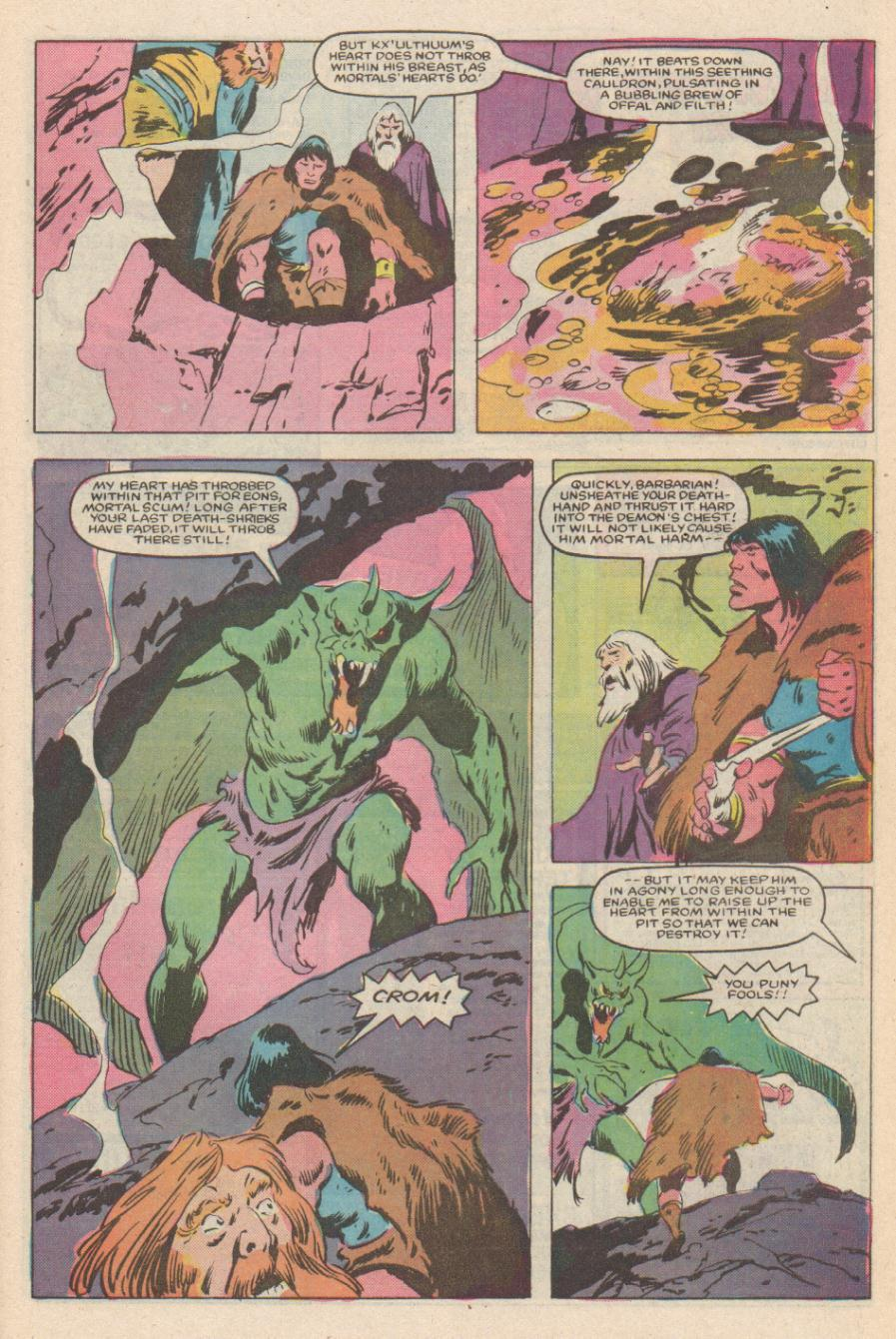 Conan the Barbarian (1970) Issue #170 #182 - English 20