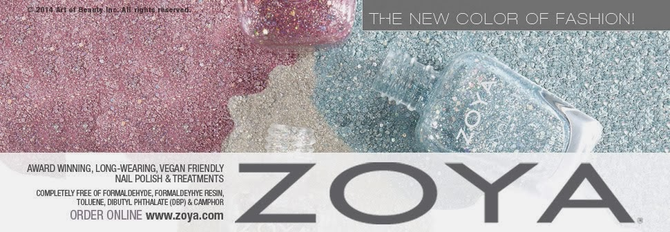 Zoya Nail Polish, Zoya Nail Care Treatments and Zoya Hot Lips Lip Gloss
