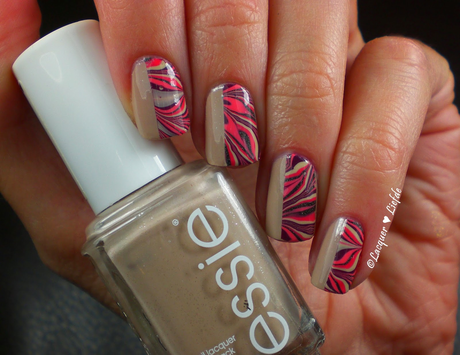 Water Marble Essie OPI