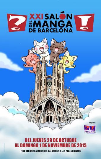 Asistiremos al Salón del Manga de Barcelona