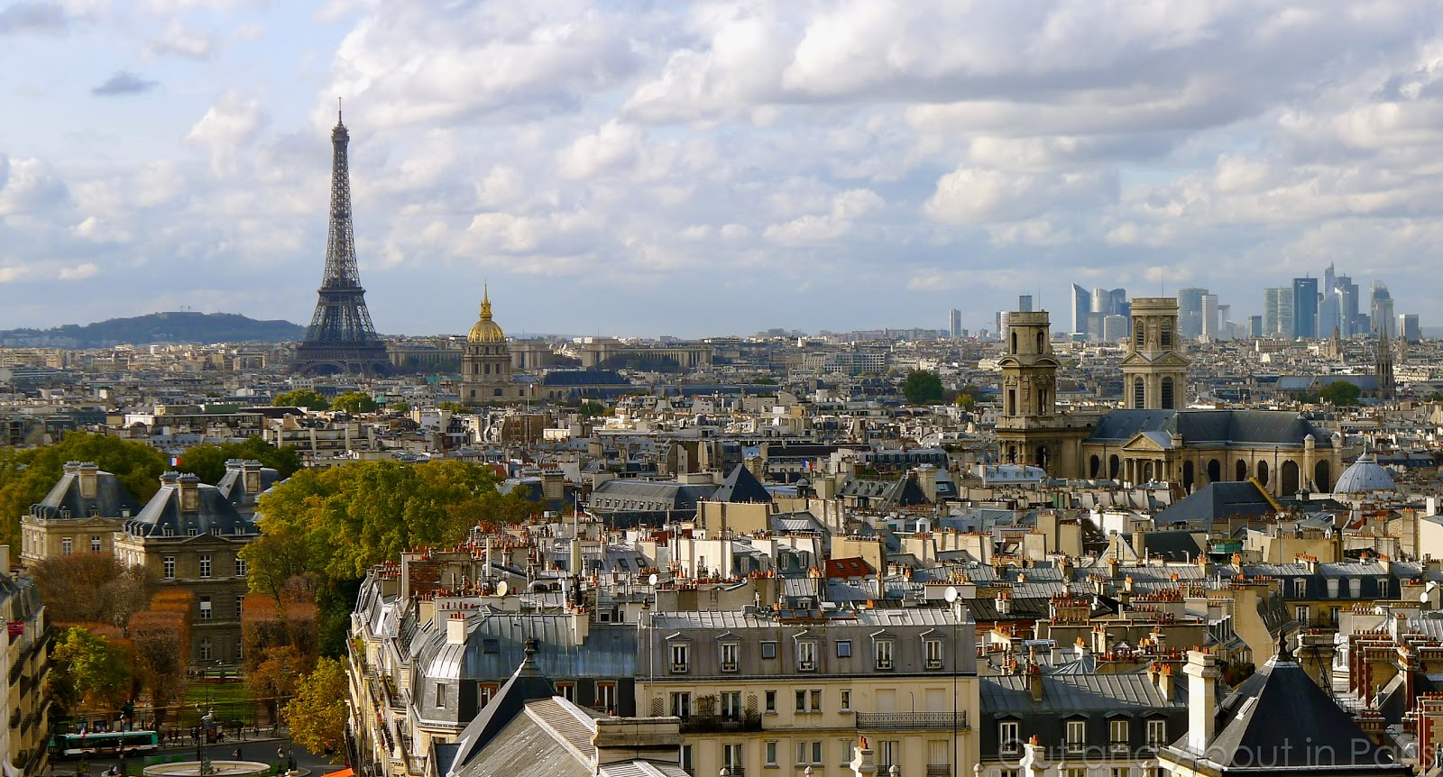 Good news and bad news - Pantheon offers the best views of Paris