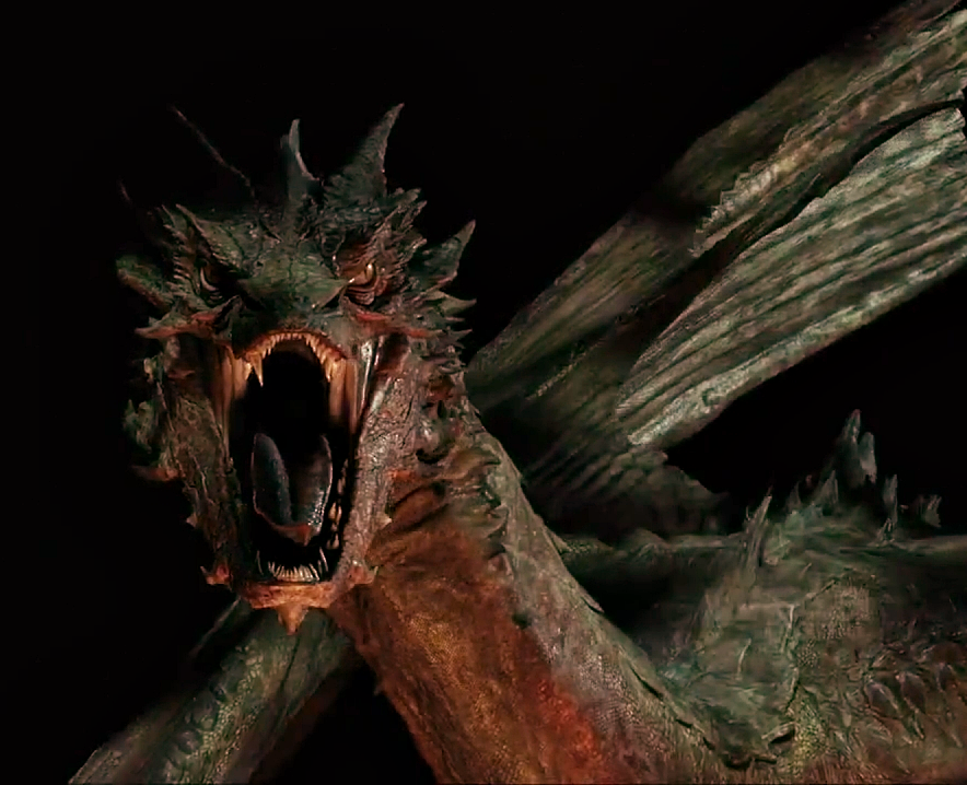 smaug the dragon hobbit - photo #11