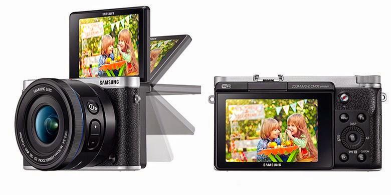 Kamera Samsung Bisa Selfie dengan Berkedip