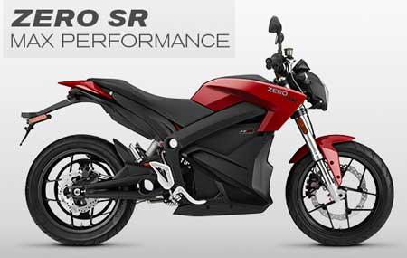Zero motorcycle SR