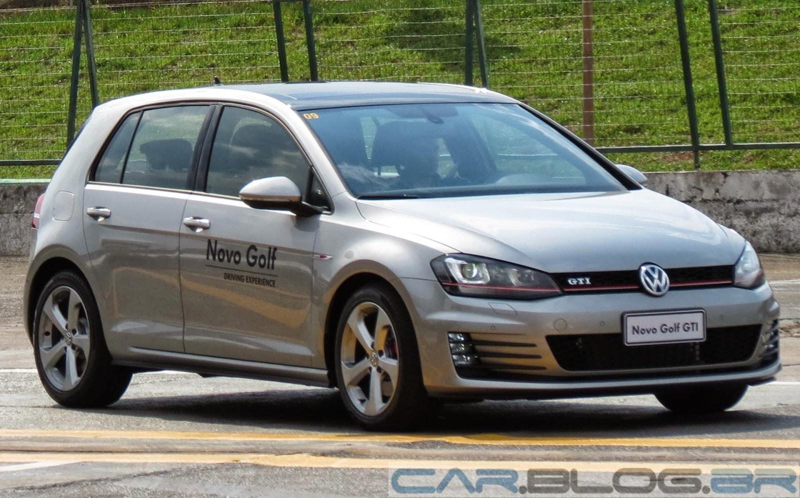 VW Golf GTI com gasolina de 27% de etanol