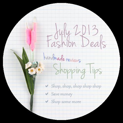 Fashion Deals July 2013