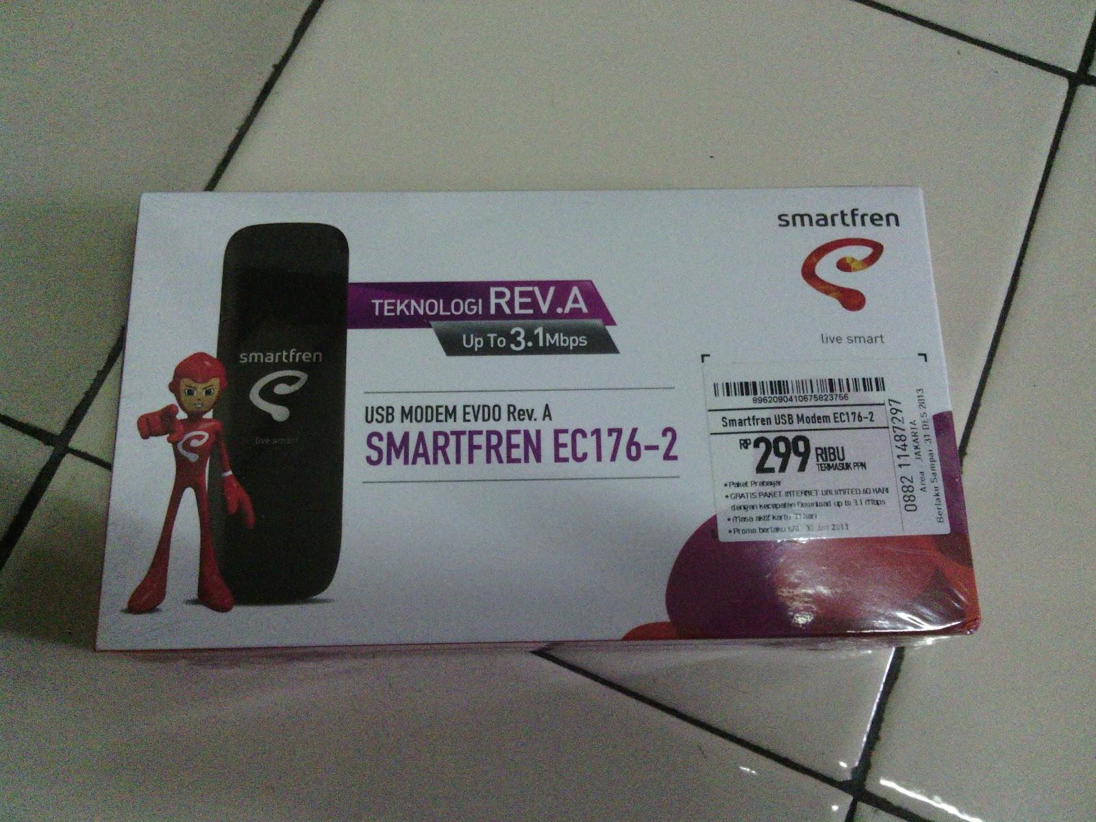 REVIEW&SHARE) USB MODEM EVDO Rev. A SMARTFREN HUAWEI EC - Page 27