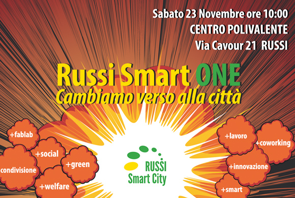 Russi Smart City - Evento Russi Smart ONE - 23 Novembre