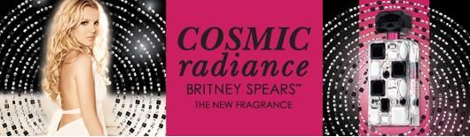 Amostra Gratis Perfume Cosmic Radiance da Britney Spears