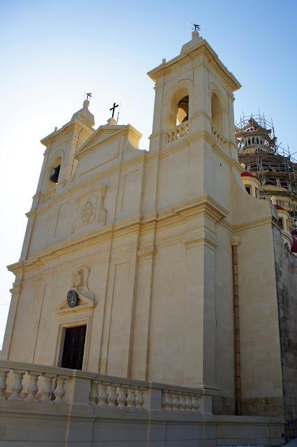 church restoration gozo