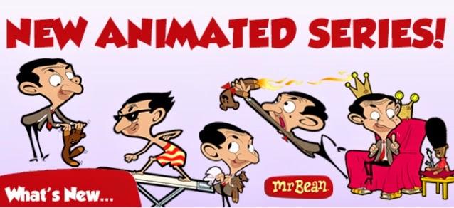 Mr. Bean la serie Animada.
