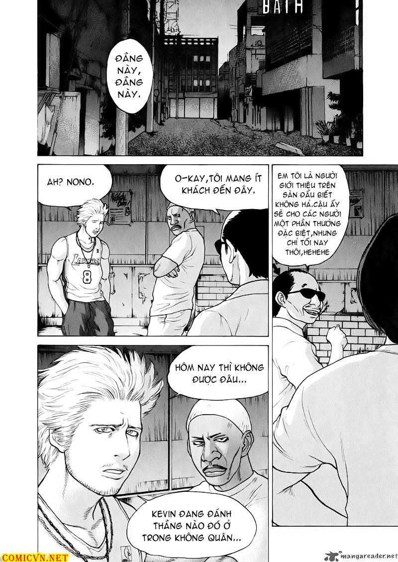 Karate Shoukoushi Kohinata Minoru chap 62 Trang 17