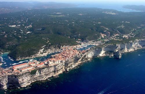 Vista aérea de Bonifácio - Córsega
