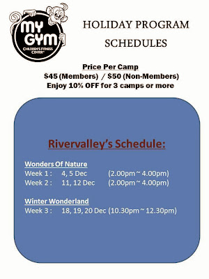 december 2013 school holidays kids programs
