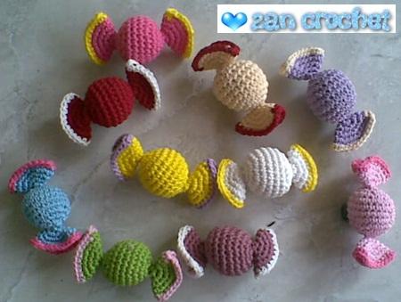 Amigurumi Monster Pattern Free Crochet : Free amigurumi candy pattern zan crochet