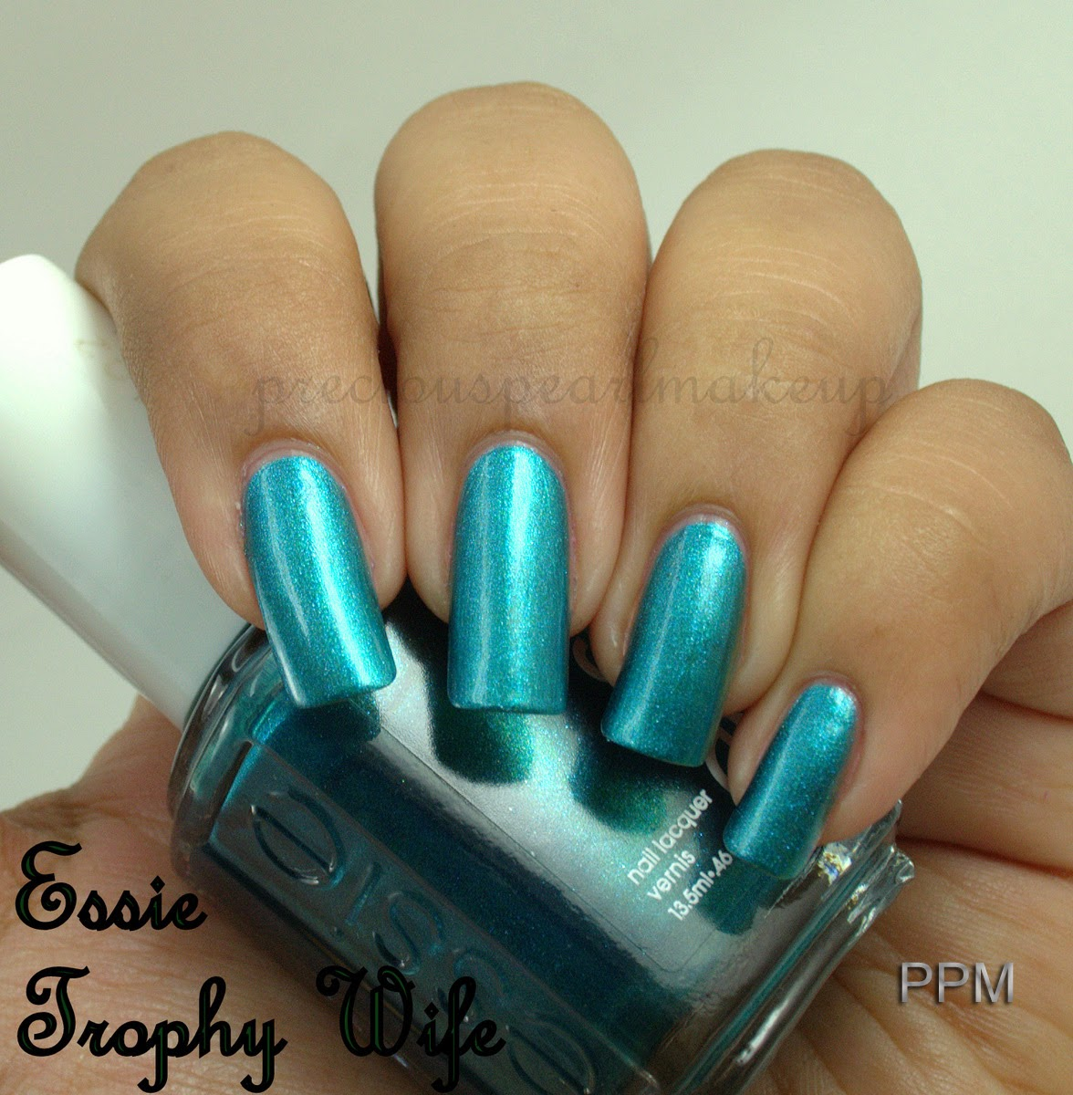 preciouspearlmakeup: Essie Nail Lacquer Trophy Wife