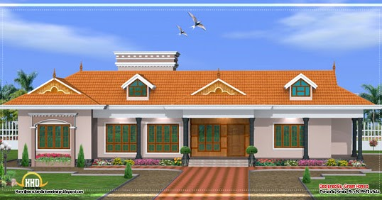 Kerala single story house model 2800 sq ft kerala - Home design plans with photos in india ...