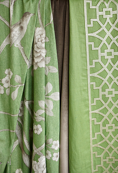 Curtains Ideas chinoiserie curtains : Chinoiserie Chic: Mary McDonald for Schumacher