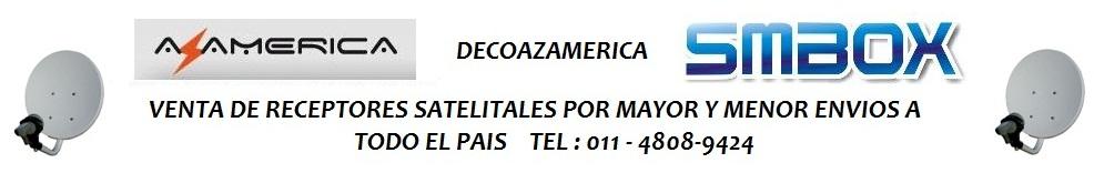 SM BOX  SM 8 RECEPTORES SATELITALES - DECODIFICADORES VENTAS EN ARGENTINA