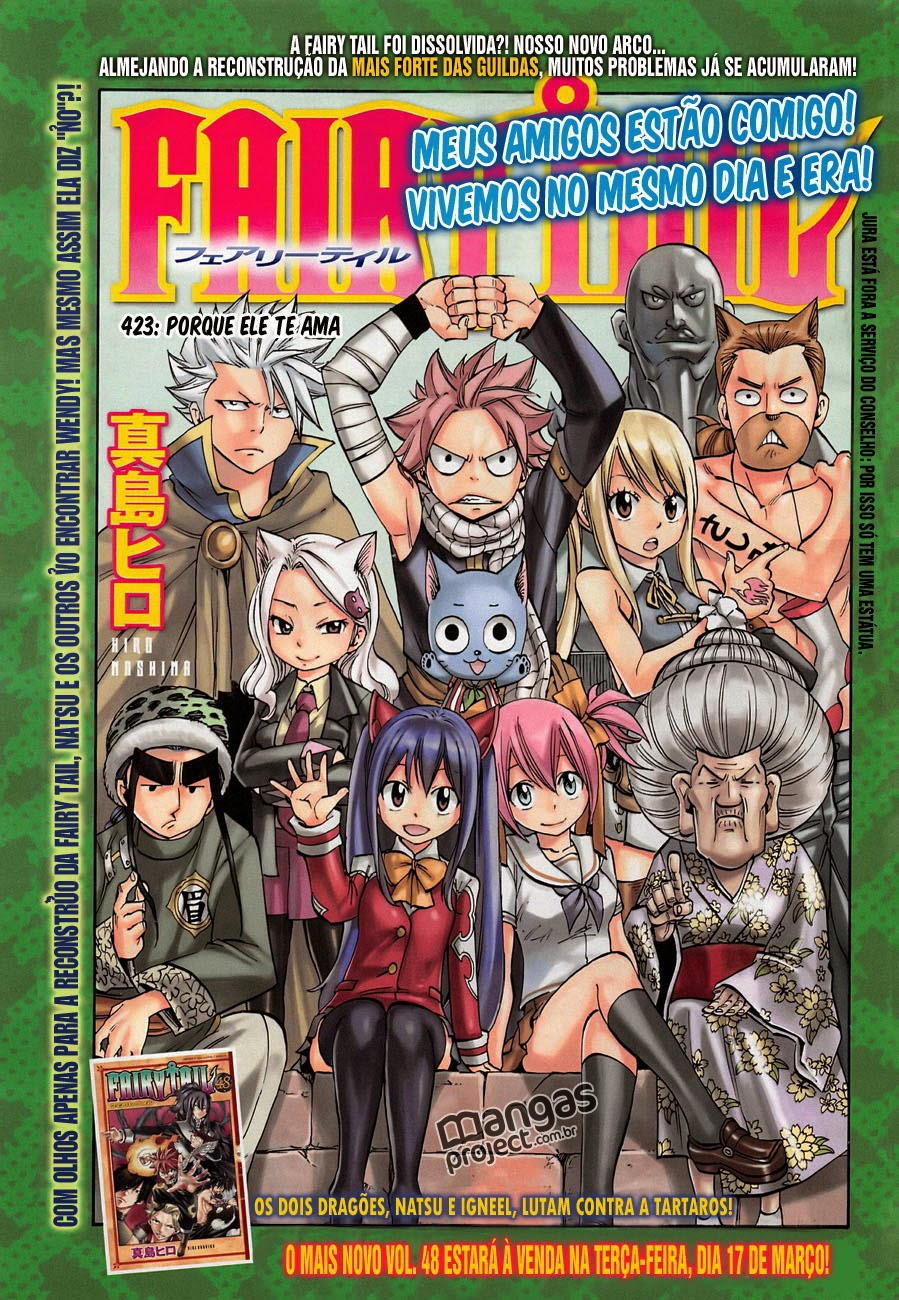 Fairy Tail 423 Mangá Português leitura online