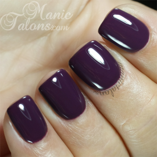 Madam Glam Gel Polish #94 Plum Addict Swatch