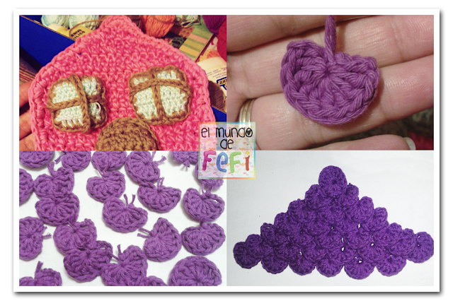 El mundo de fefi hogar dulce hogar casita al crochet for Decoracion hogar a crochet