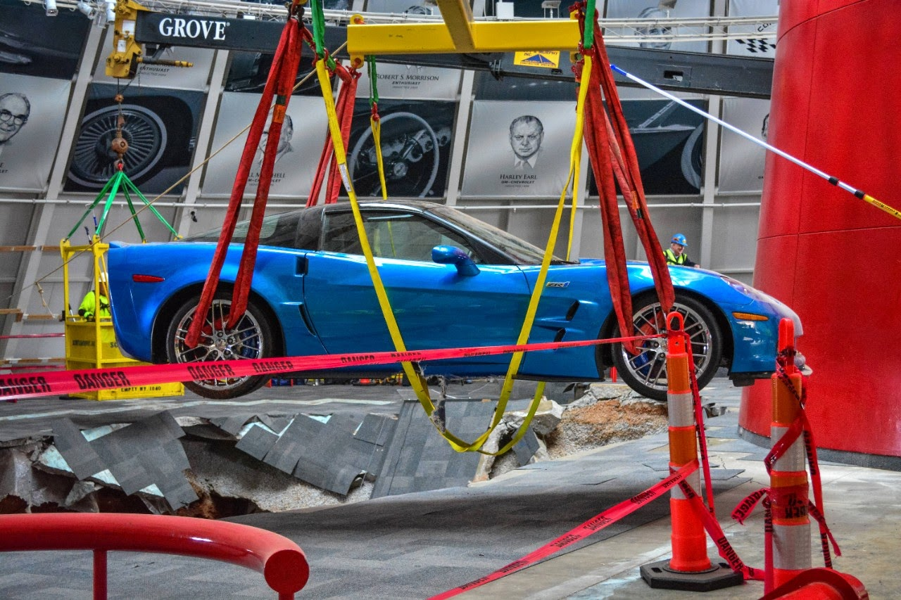 3 Museum Sinkhole Corvettes to be Restored